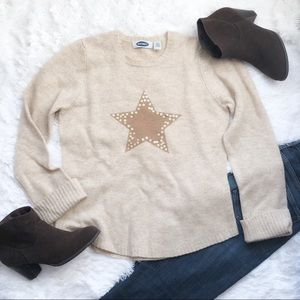 Old Navy Sequin Star Sweater